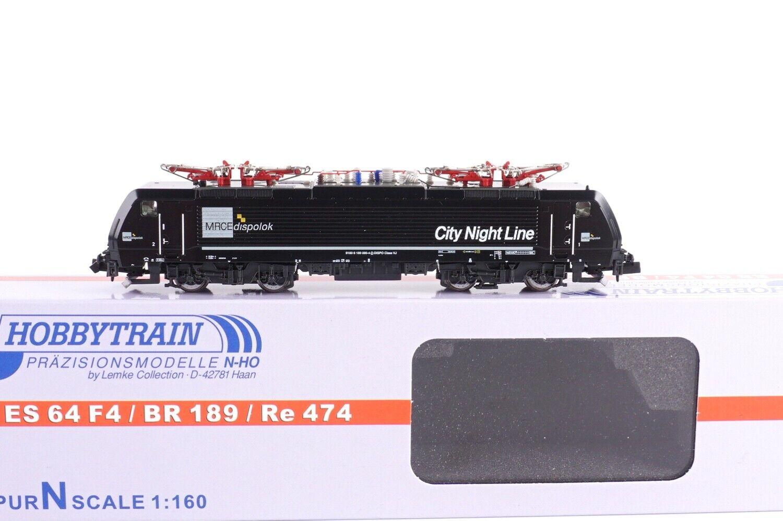 Hobbytrain N 2910 Locomotora Eléctrica Br 189  City Noche Línea   - Nuevo  Ke53