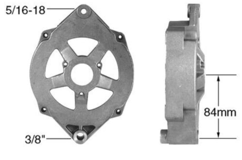 BBC Serpentine Pulley Conversion Kit Alt Only Small Block Chevy LWP 427 454 4