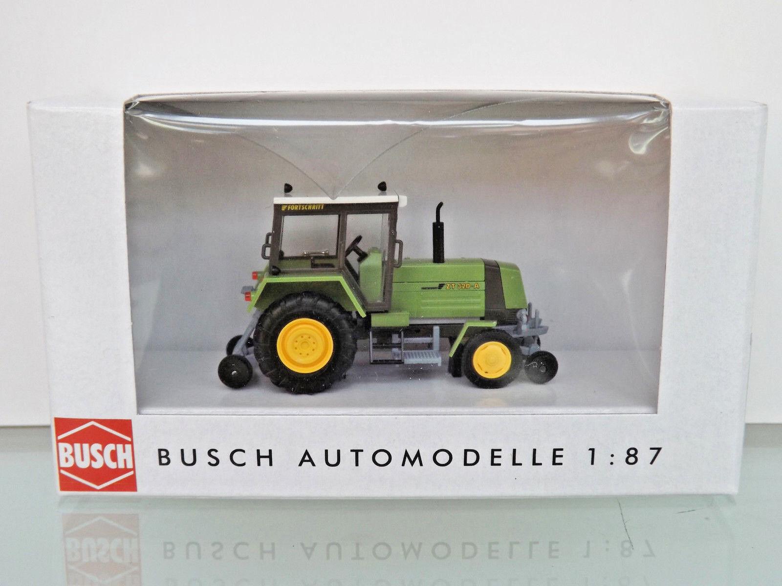 Busch 50409-h0 1 87 - Tracteur Progrès zt320, bidirectionnel-Neuf dans neuf dans sa boîte