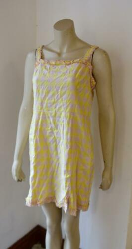 UO Urban Outfitters Wren Lin Volants Mini Robe Taille S RRP £ 49 #7