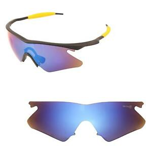 f367647038 Image is loading Walleva-Mr-Shield-Polarized-Ice-Blue-Replacement-Lens-