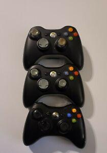 LOT OF 3 Xbox 360 OEM Wireless Controller - READ DESCRIPTION!