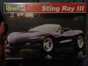 Revell String Ray III 1:25 Model Kit #7346 Factory Sealed From 1993
