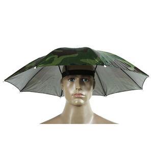 La imagen se está cargando 1PC-Camuflaje-Sombrero-paraguas -de-poliester-de-deportes- d822162ce11