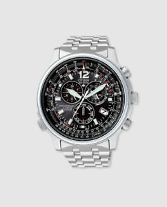 1e07706297be Image is loading Mens-watch-chrono-pilot-radio-controlled-citizen-as4020-