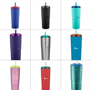 Bubba Envy S Vacuum-Insulated Stainless Steel Tumbler with Straw 24 oz.NEW