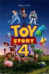 Toy-Story-4-Key-Art-POSTER-61x91cm-NEW-Disney-Pixar-Buzz-Woody-Alien-Jessie