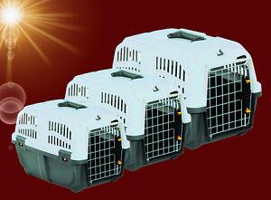 Hunde-Katze-TRANSPORTBOX-Flugbox-Reise-Auto-Kennel