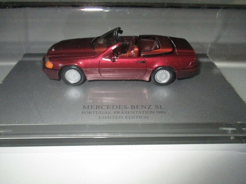 AMR danhausen MERCEDES-BENZ SL Portogallo-presentazione 1989 Limited 1/43 OVP #132
