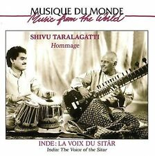 FREE US SHIP. on ANY 2 CDs! NEW CD Shivu Taralagatti: India: The Voice of the Si