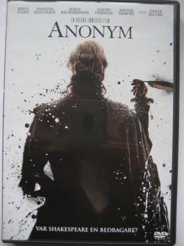 1 of 1 - Anonymous (DVD, 2012) NEW SEALED (Nordic Packaging) PAL