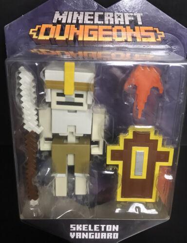 "NEW 2020 Minecraft Dungeons Skeleton Vanguard 3.25/"" Figure"