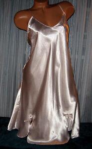 Beige-Tiny-Black-Dots-Chemise-Short-Gown-1X-2X-Plus-Size-Adjustable-straps