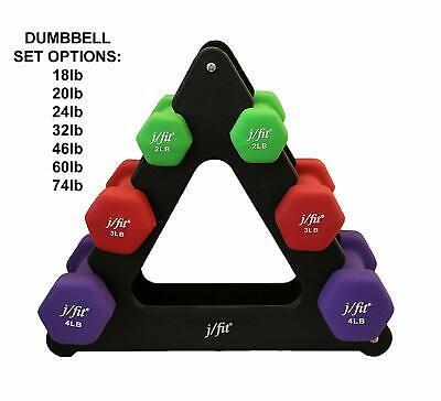 JFIT j//fit 3lb Neoprene Grip Dumbbell Weight