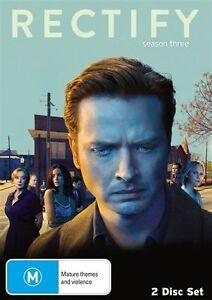 Rectify : Season 3 (DVD, 2016, 2-Disc Set) - NEW / SEALED - Region 4