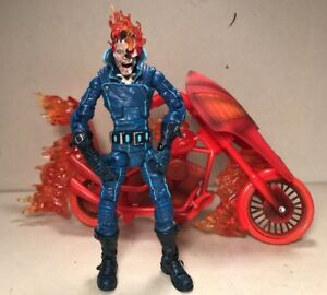 Toy Biz JOHNNY BLAZE GHOST RIDER VARIANT Series 7 MARVEL LEGENDS 6in. #5577