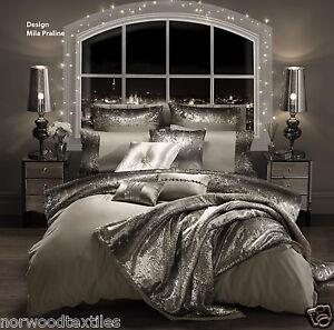 bed premium set store modern cover duvet designer home black slp luxury uk co diamante bedding amazon silver double quilt
