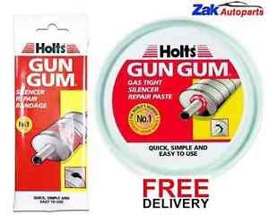 HOLTS GUN GUM SILENCER EXHAUST REPAIR BANDAGE