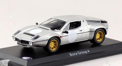 Maserati Bora Gruppe 4 silber 1:43 Modellauto