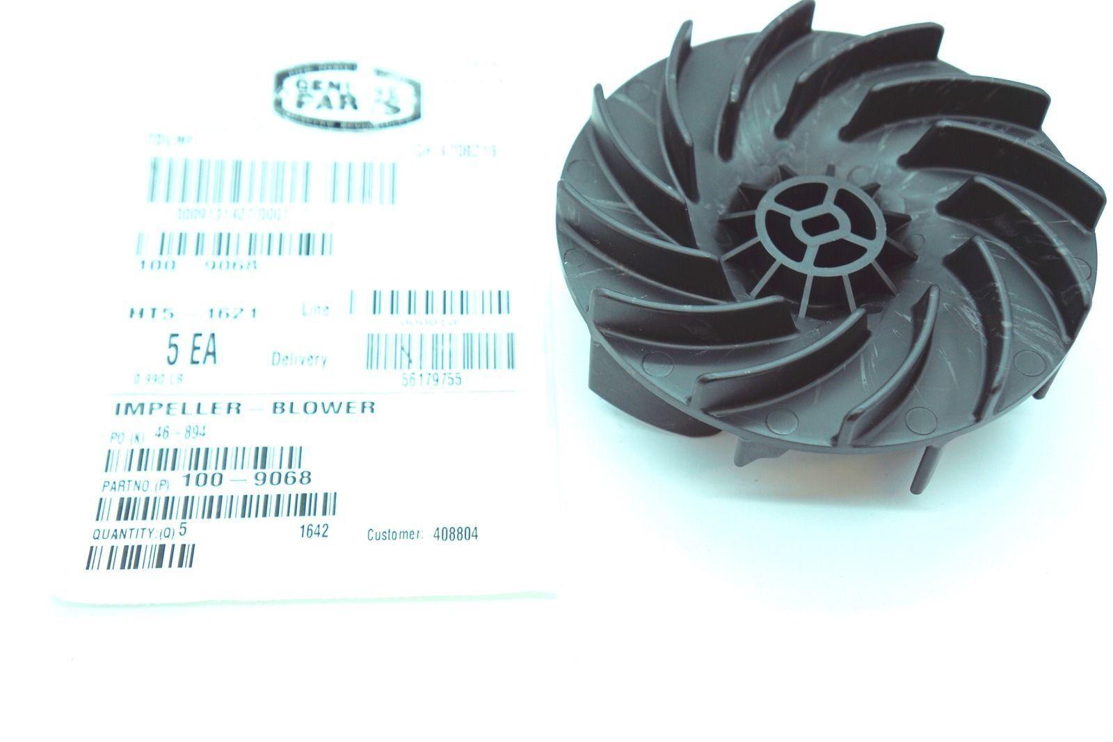 TOR Toro Electric Blower Impellar Fan 98-3150 OEM Toro Leaf Blower 98-3150