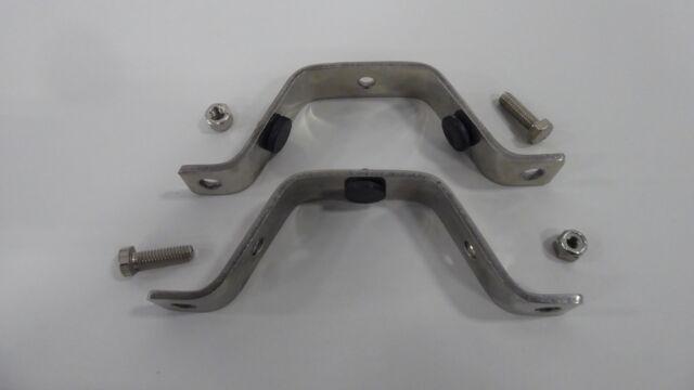 Dixon B24RG-G75 Stainless Steel 304 Sanitary Fitting Hex Tube Hanger with Grommets 1//2-3//4 Tube OD