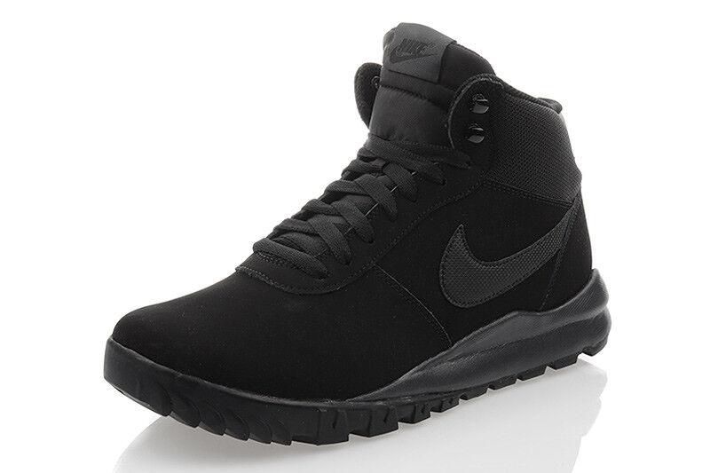 Nike hoodland Suede zapatos negro caballero zapatos de invierno negro zapatos cortos 654888-090 sale bd8b0b