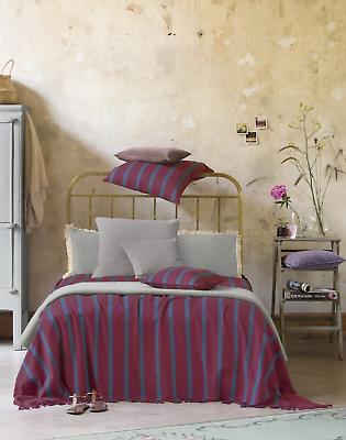 Tagesdecke Bettüberwurf Baumwolle Fransendecke Überwurf Sofaüberwurf Decke Sofa Eine Lange Historische Stellung Haben