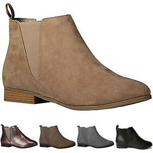 Womens Chelsea Ankle Boots Ladies Smart