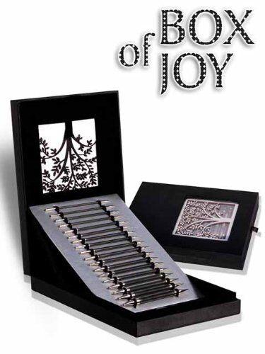 Knitter/'s Pride KARBONZ Intercambiables Caja de conjunto de edición limitada de alegría