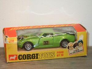 Ford-GT70-Corgi-Toys-Whizzwheels-316-England-in-Box-34614