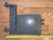 Rockwell Metal Lathe Motor Plate