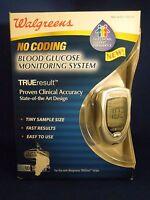 Walgreens No Coding Blood Glucose Monitoring System