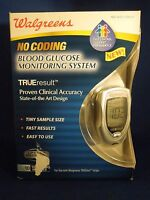Walgreens No Coding Blood Glucose Monitoring System