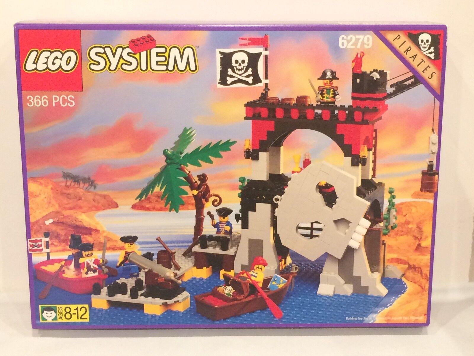 Vintage 1995 Lego 6279 Skull Island, the original  MISB