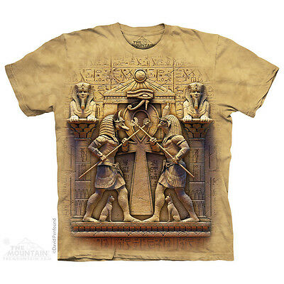 THE MOUNTAIN IMMORTAL COMBAT EGYPTIAN ANCIENT MYTHOLOGY BATTLE T TEE SHIRT S-5XL