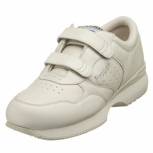 Propet Life Walker Strap - Men's Orthopedic Walking shoes White - 14 D(m) Us