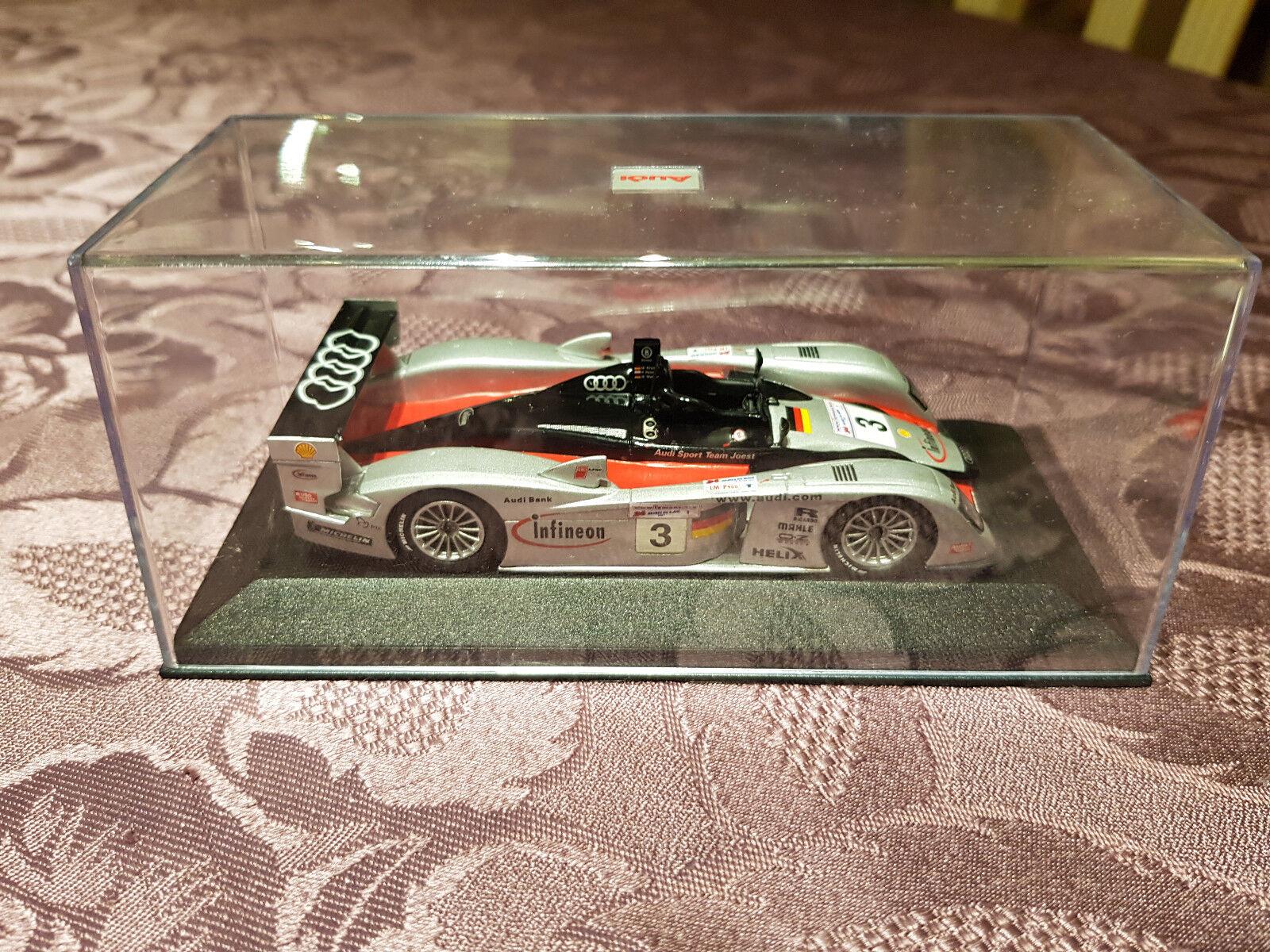 Voiture Voiture Voiture MINICHAMPS 24 Heures Mans Audi Collection Infineon N°3 Paul's 1 43 be2641
