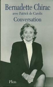 Livre-Bernadette-Chirac-conversation-avec-patrick-de-Carolis-book