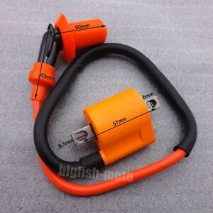 OxoxO Racing Ignition Coil for Yamaha PW50 PW 50 PW80 Motorcycle Dirt Pit Bike All Years