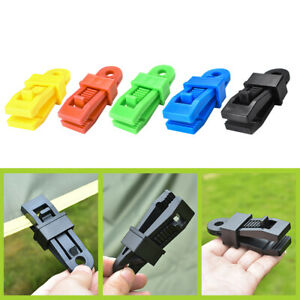 Outdoor-Large-Canopy-Rope-Clamps-10pcs-Windproof-Awning-Tent-Alligator-Barb-Clip