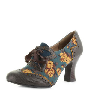 Ruby Shoo Daisy Olive Womens Heels Shoes-5 Mel A Drama Air Vibenna sMqnyp