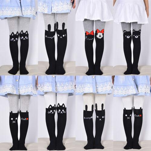 Cute Baby Kids Girls Cotton Cat Tights Stockings Pants Socks Hosiery Pantyhose