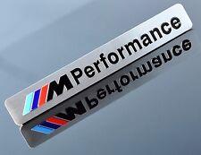 M PERFORMANCE ALUMINUM EMBLEM BADGE STICKER DECAL BMW 1 2 3 4 5 SERIES X1 X3 X5