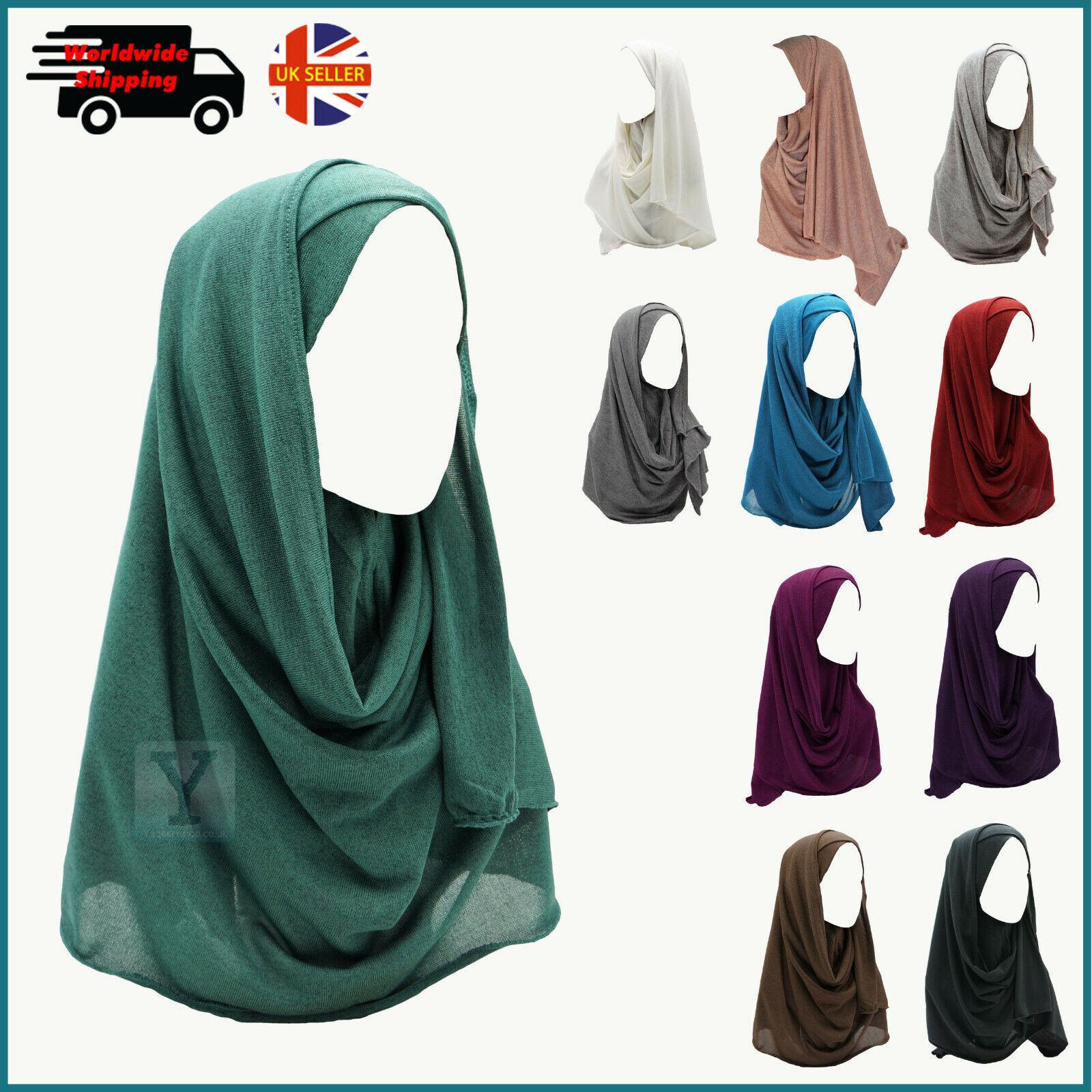 Ready to Wear Hijab, una pieza Ready Made Tire de Bufanda Chal instantáneo Tirar