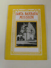 1941 Santa Barbara Mission California Colin McIsaac Book Pictures and History