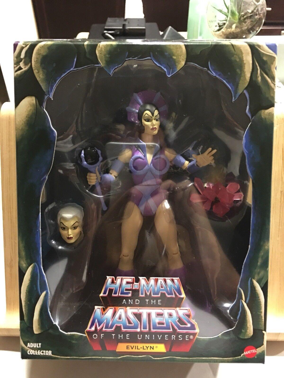 mejor vendido Heman Amos Del Universo clásicos 2.0 2.0 2.0 Evil Lyn Filmation Amos Del Universo Mattel Menta en Caja Sellada  nuevo listado