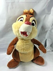 Walt-Disney-World-Disneyland-Parks-039-Chip-amp-Dale-Plush-9-034-Chipmunks-Dale-Only-FS