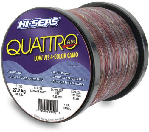 NEW Hi-Seas Quattro Mono 4-Color Camo 50 lb 1000 yd GSQ-1-50