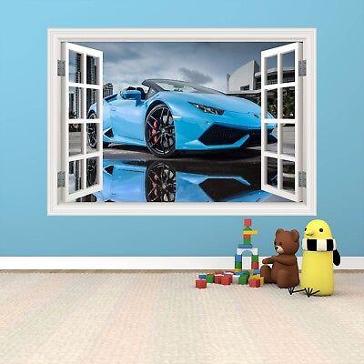 Full Colour Super Car Lamborghini Window Wall Art Sticker Graphic Print Wsdw36