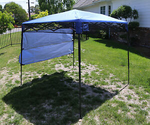 Image is loading Bravo-Sports-Quik-Shade-Ultra-Compact-6-039- & Bravo Sports Quik Shade Ultra Compact 6u0027 X 6u0027 Blue Backpack Canopy ...